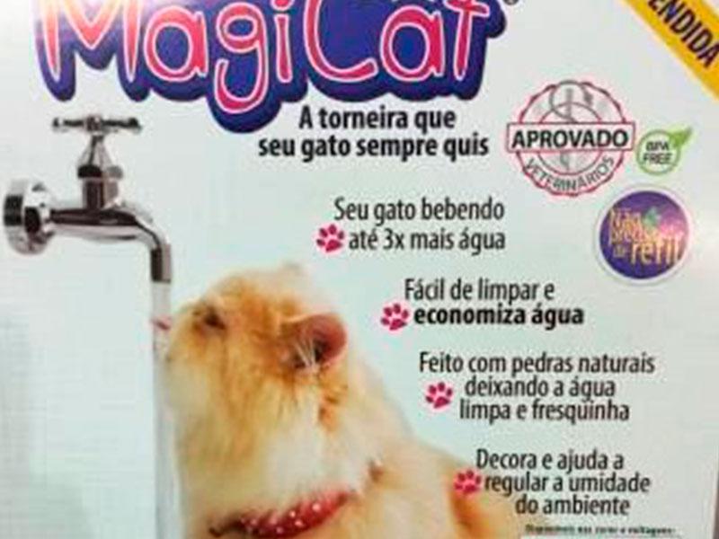 Bebedouro Mágico para Gatos